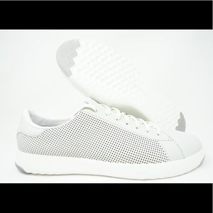 Cole Haan Grand Pro Tennis Mens White Grey